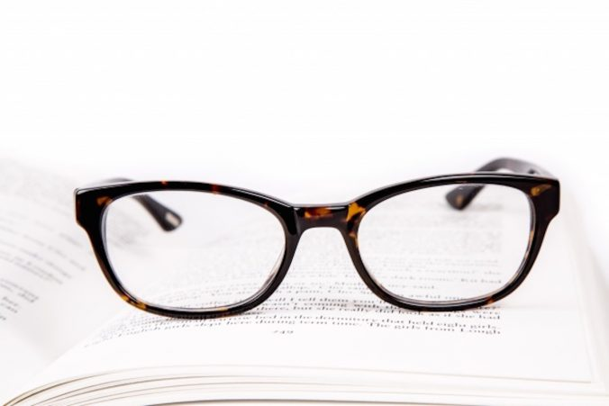 Banner Picture of Book and Glasses