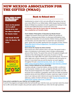 Thumbnail of Fall 2017 Newsletter